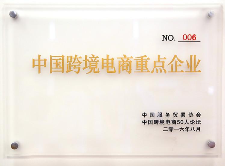 国烨被评为中国跨境电商重点企业