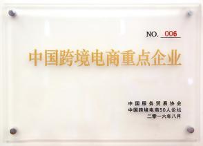 GYIE being rewarded the China Key Cross-border E-commerce Enterprise