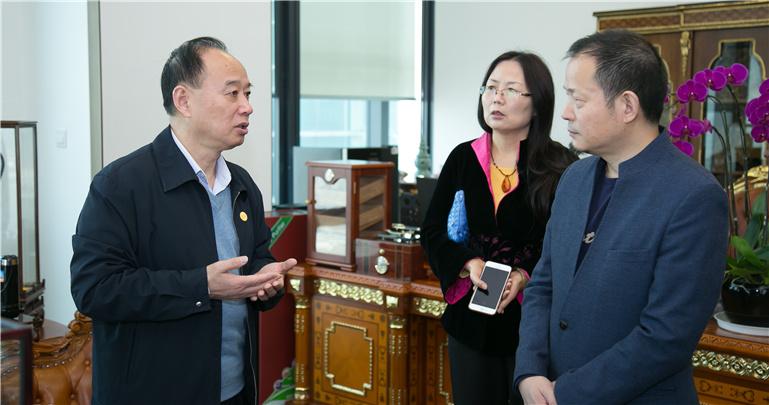 Chairman of ZENDAI Group, Dai Zhikang, comes and visits GYIE Cross-border