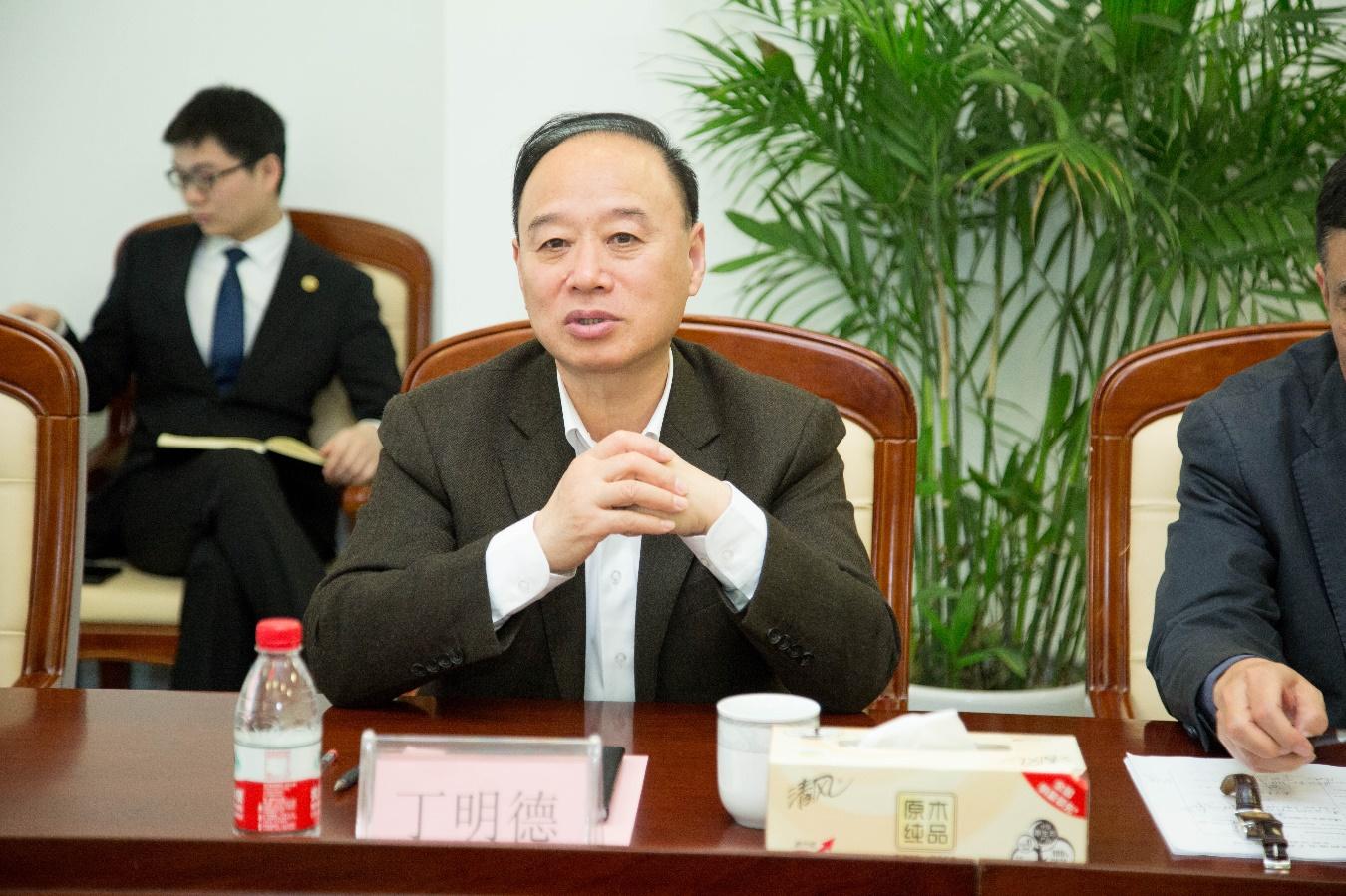 中国石油和化学工业联合会化工园区工作委员会秘书长 杨挺一行莅临国烨