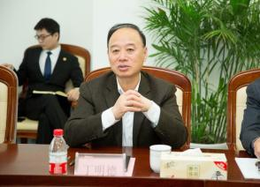 Yang Ting, secretary of the chemical industry park work committee of CPCIF, visits GYIE Cross-border