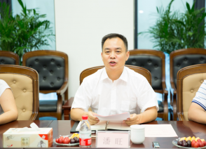 Pan Wang, CEO of Chinalight, comes and visits GYIE Cross-border