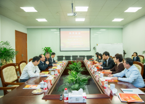 上海市人民政府外事办、港澳事务办副主任周亚军一行莅临国烨跨境指导工作