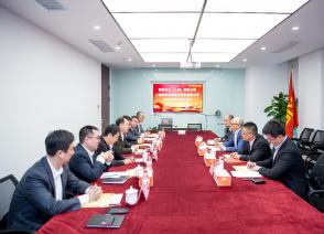 英腾化工(上海)有限公司 上海国烨跨境电子商务有限公司 战略合作协议签订仪式