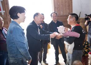 国烨跨境深入江西革命老区开展精准扶贫