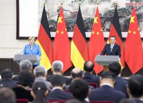 China Focus: China, Germany seek stronger cooperation as Merkel visits