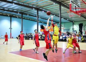 国烨集团举办2018秋季职工篮球比赛