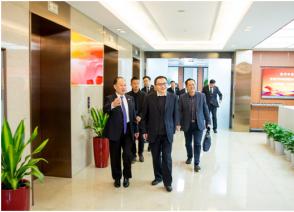 四川宜宾天原集团股份有限公司邓敏总裁一行莅临国烨集团座谈交流